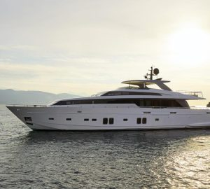 Brand-new 32m superyacht DINAIA new to charter market - available in Eastern Mediterranean's Greece