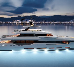 Construction update: 37-metre superyacht DOM123 from CCN