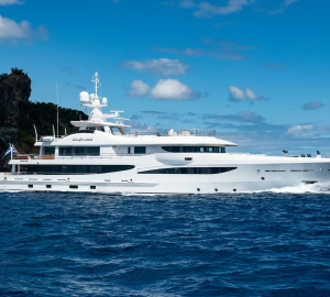 55m AMELS superyacht DRIFTWOOD new to charter market