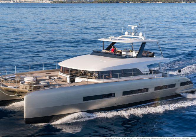 Double Down catamaran yacht