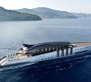 ELEUTHERA - 100m mega yacht concept by Azcarate Design