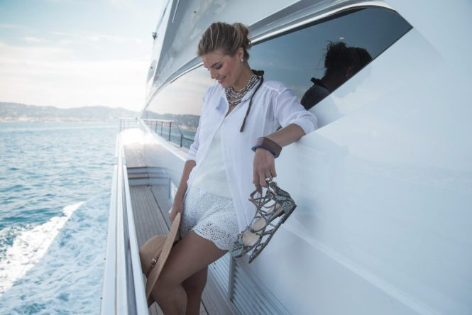 Enjoying a charter vacation lifestyle
