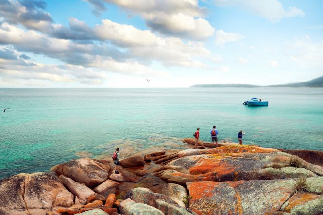 Great Walks of Australia Schouten Island Freycinet Experience Walk Freycinet, Tasmania's East Coast