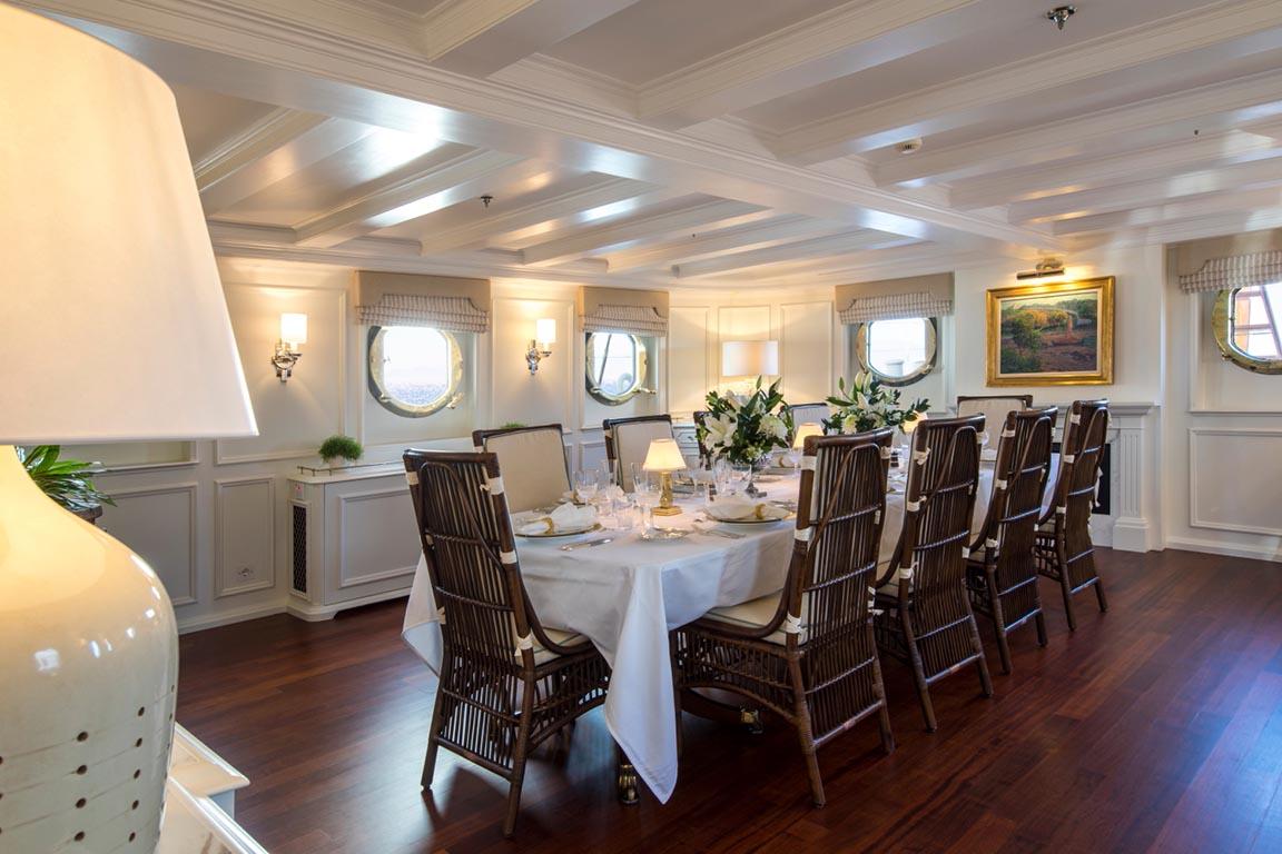 HAIDA - beautiful classic dining area