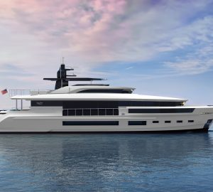Superyacht Dopamine, the latest Heysea Atlantic 115 under construction