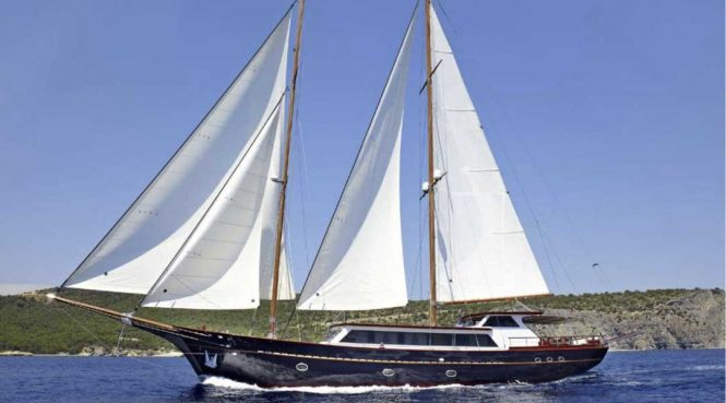 IRAKLIS L sailing gulet offering luxury charter vacations
