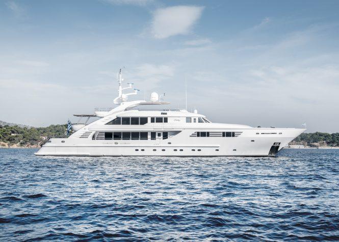 ISA motor yacht OASIS