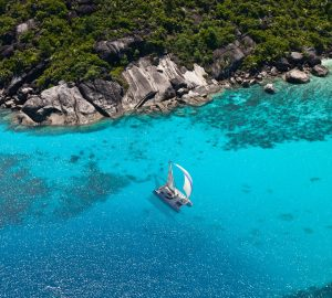 Enjoy exotic Seychelles at reduced price with charter yacht LONESTAR