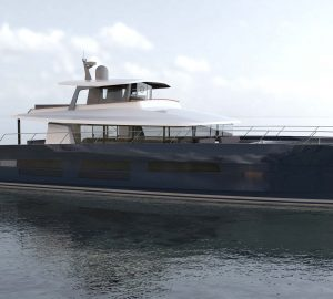 Construction commences on Long Island 78 motor catamaran from JFA Yachts