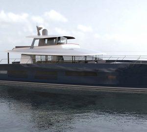 Construction commences on Long Island 78 motor catamaran from JFA Yachts
