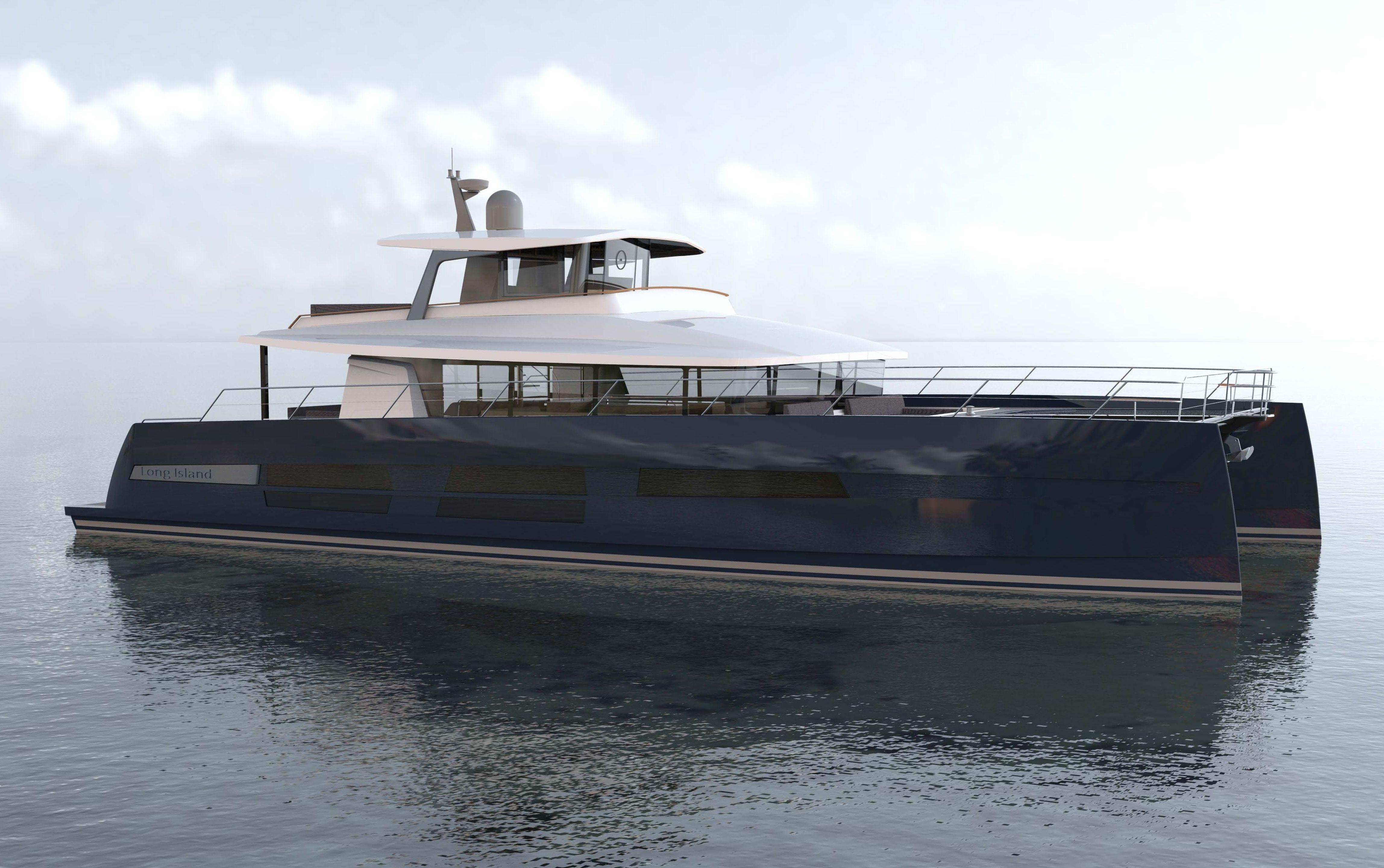 LONG ISLAND 78 catamaran motor yacht - Photo credit JFA Yachts