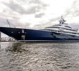 Success for Lurssen luxury yacht Project TIS on sea trials