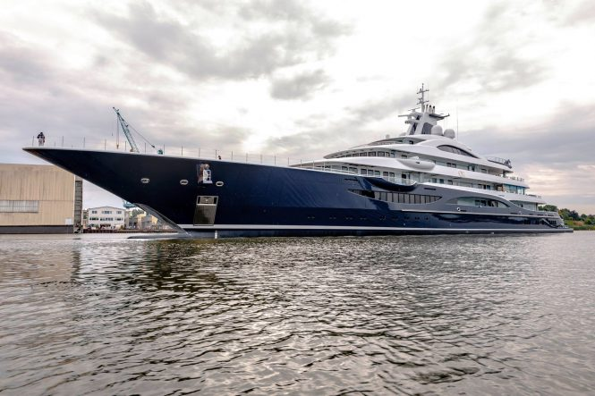 Lurssen Project TIS. Photo credit Klaus Jordan