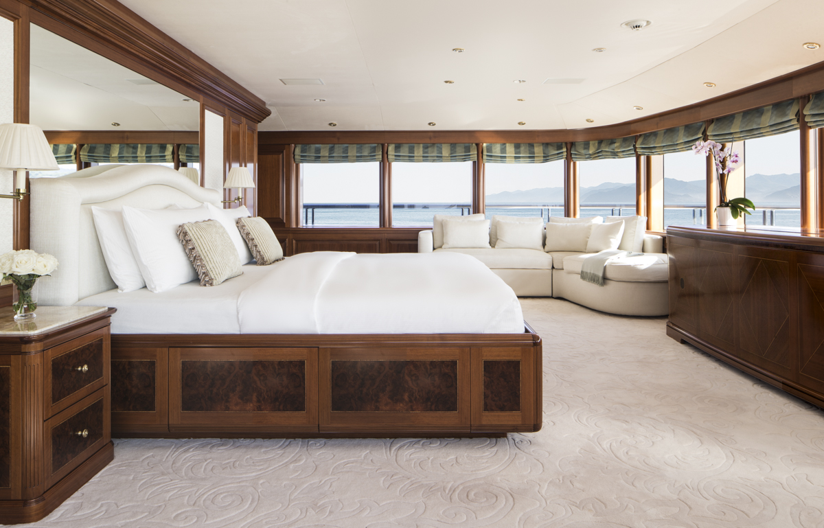 Luxurious and spacious accommodation on board