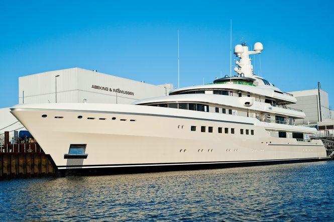 Luxury mega yacht GRACE previously known as KIBO