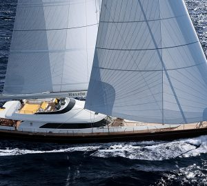 Enjoy One Extra Day for Free aboard 45m Perini Navi S/Y BLUSH in the Carbbean