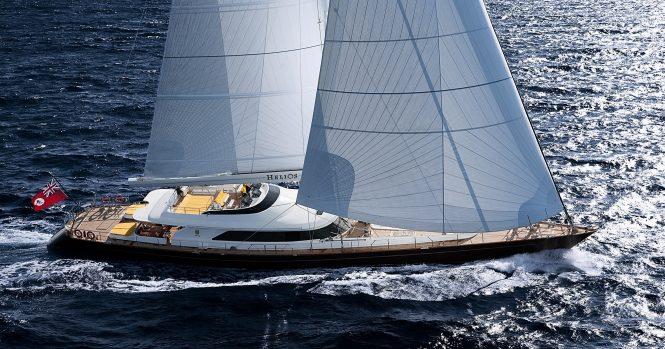 Luxury sailing yacht BLUSH