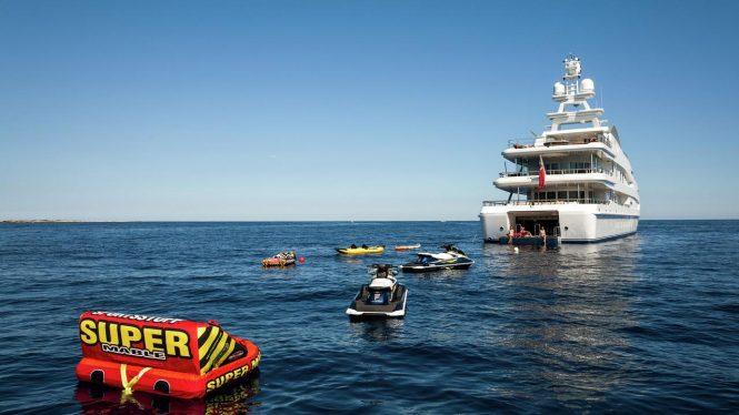 Luxury superyacht Lucky Lady
