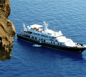 Classic motor yacht ATLANTIC GOOSE offering charter special in the Caribbean