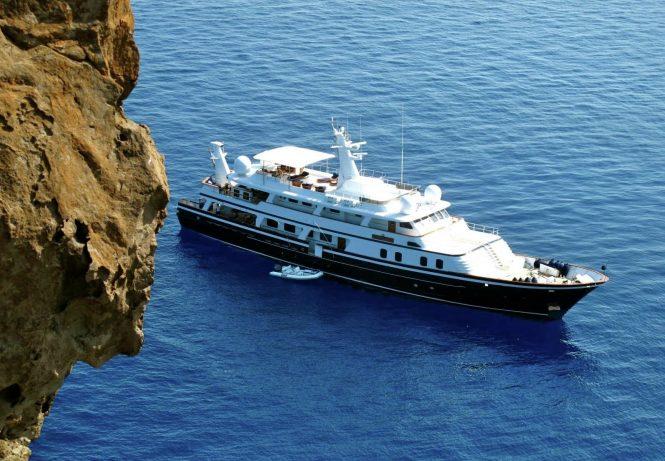 Luxury yacht ATLANTIC GOOSE