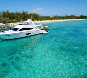 2018 motor yacht MARYBELLE available for Bahamas charter vacations