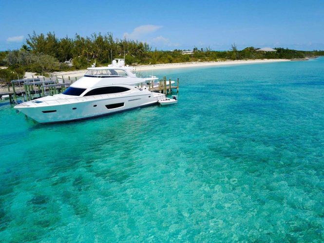 Luxury yacht Marybelle available in the Bahamas