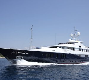 15% East and West Med early-bird discount with 55m SEQUEL P Superyacht