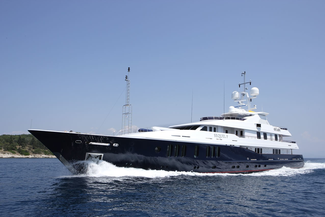 Luxury yacht SEQUEL P