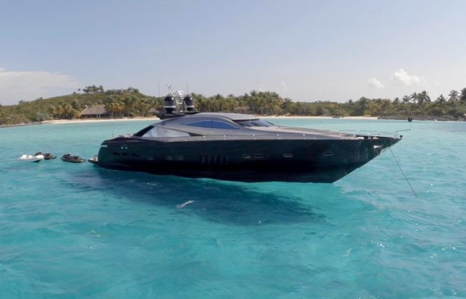 MY MURCIELAGO - a cool, sporty and fast motor yacht