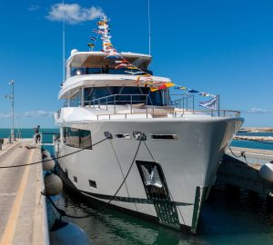 Fifth Cantiere delle Marche Nauta Air 110 superyacht 'Mimi la Sardine' completes sea trials