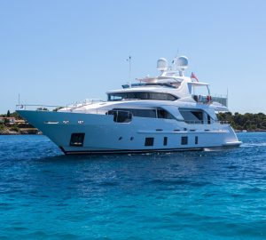 28m Benetti ZEHAVA renamed motor yacht GALA