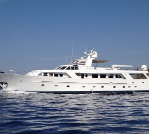 Benetti motor yacht INDIA offering 10% discount in the Western Mediterranean