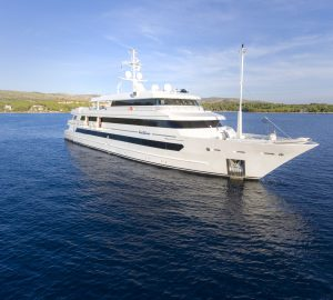 60m KATINA offering reduces yacht charter rates in the Caribbean