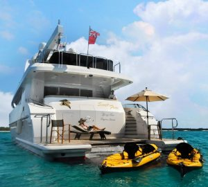 One additional day free with 36m motor yacht LEGENDARY in the Bahamas