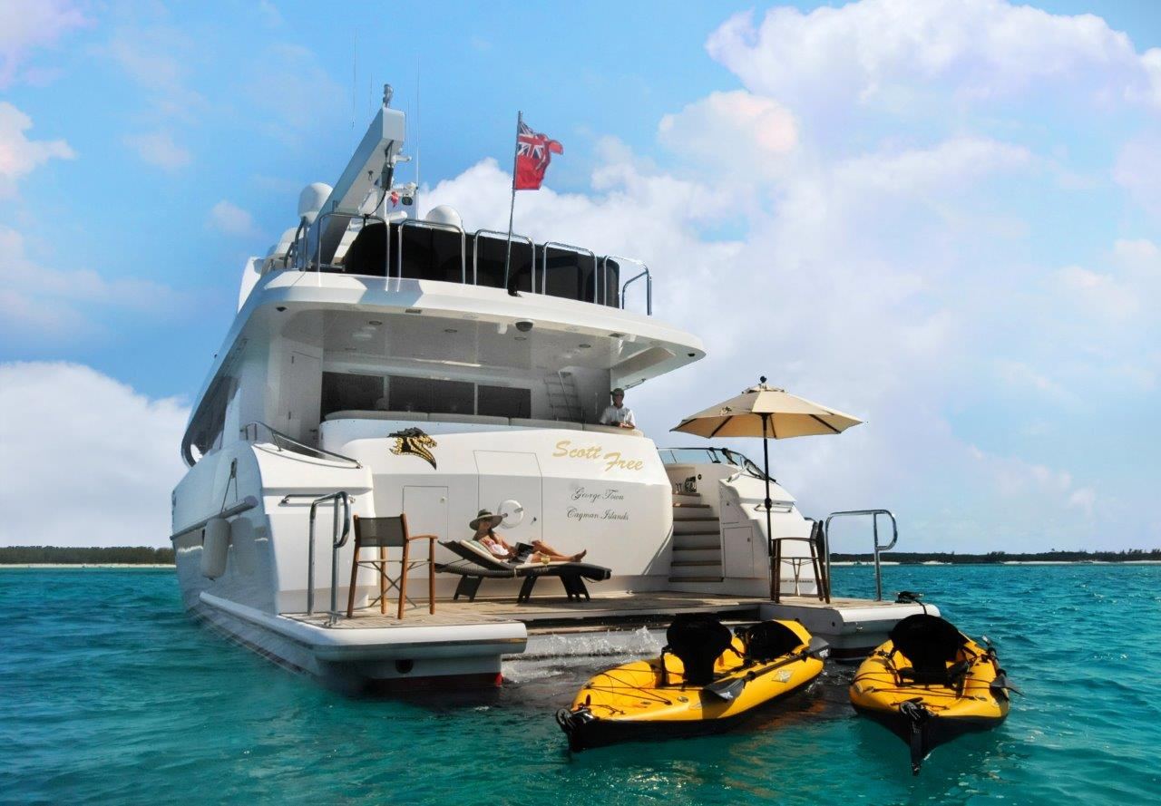 Motor yacht LEGENDARY with water toys