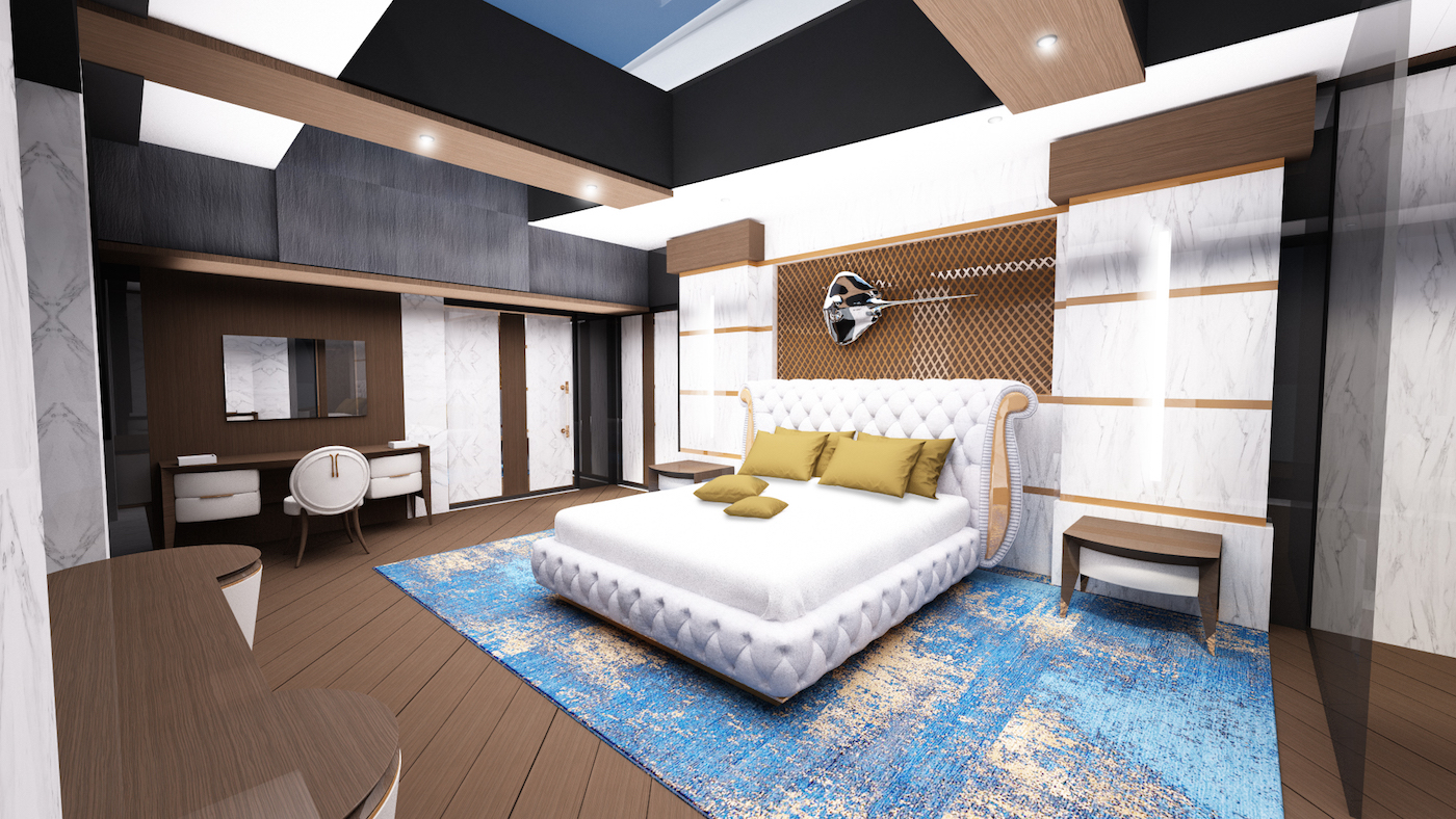 Owner suite © Azcarate Design