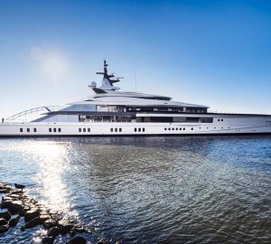 Oceanco mega yacht Project BRAVO - Y718 launched