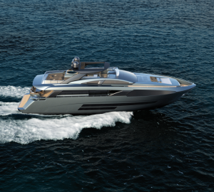 New F86 luxury yacht launched by Bugari