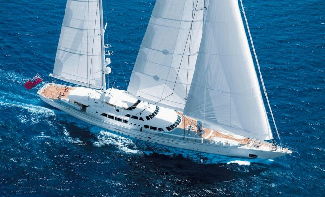 SPIRIT OF THE Cs sailing yacht