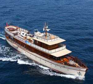 All-Inclusive charter special in Africa with beautiful 1930 classic motor yacht OVER THE RAINBOW
