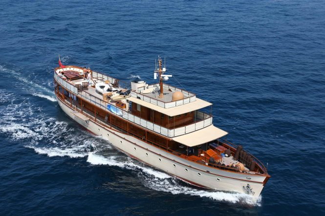Sailing yacht OVER THE RAINBOW offering adventure-filled luxury charter vacations