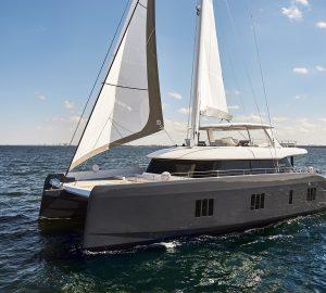 Luxury catamaran, 7XSPLIT - The first new Sunreef 80
