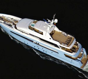 46m superyacht TIME FOR US offering 10% discount on Bahamas Christmas and New Year charter