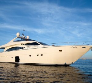 Greece yacht charter special with 25m Ferretti PIOLA