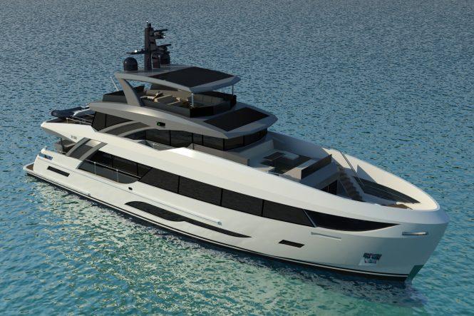 Motor Yacht BERING 106