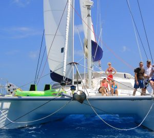 Sailing Catamaran YES DEAR offering Caribbean Christmas and Winter Special