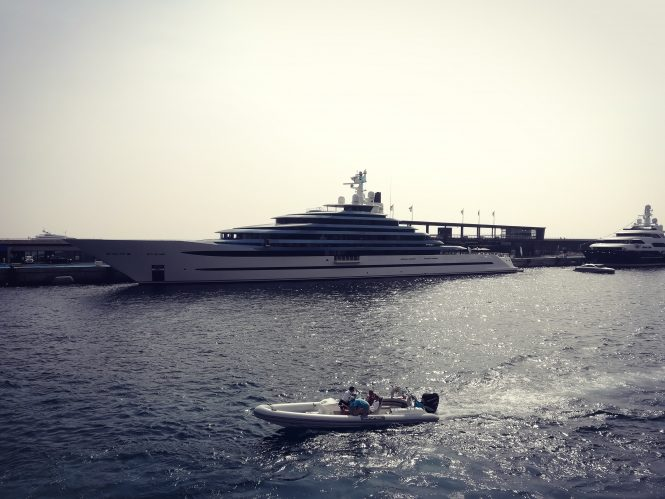 110m Oceanco superyacht Jubilee at MYS 2017 - Photo © CharterWorld.com