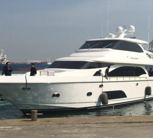 Horizon delivers motor yacht BARBARELLE II