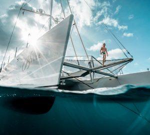 32-metre catamaran yacht Necker Belle renamed BELLA VITA