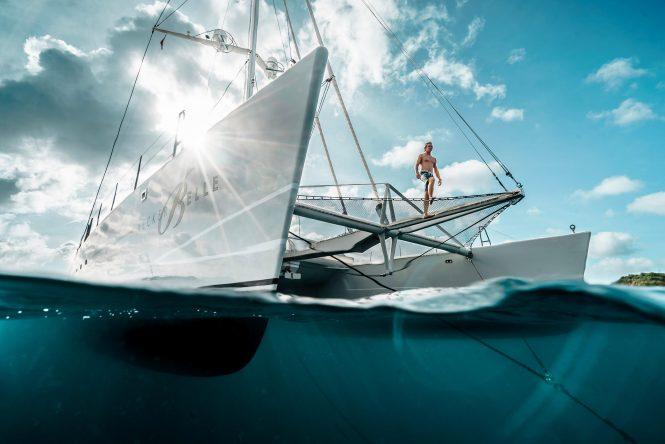 Bella Vita catamaran yacht offering Caribbean charters